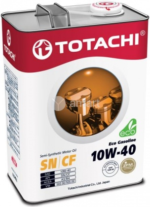 TOTACHI Eco Gasoline SN/CF п/с 10W-40 4л