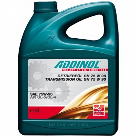 ADDINOL Getriebeol GH 4L 75W90 GL4/GL5