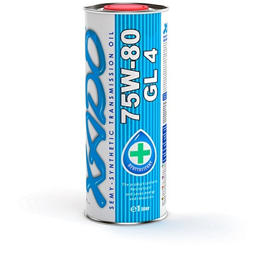 XADO Atomic Oil 75W-80 GL4 1L жест.банка