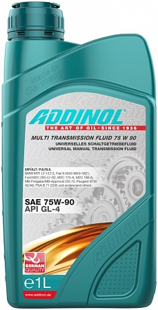 ADDINOL Getriebeol GH 1L 75W90 GL4/GL5